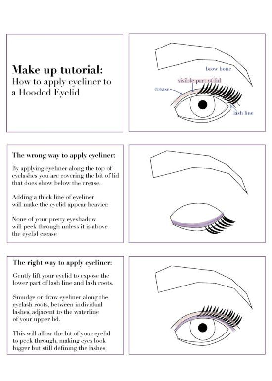How to make hooded eyes look bigger quilt
