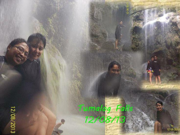 Tumalog Falls at OSLOB, CEBU