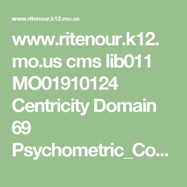 www.ritenour.k12.mo.us cms lib011 MO01910124 Centricity Domain 69 Psychometric_Conversion_Table.pdf