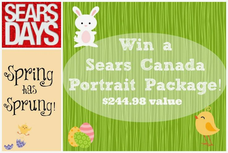 Spring has Sprung! Win a $244.98 val Portrait Package with Sears Portrait Studios & @Sears Canada