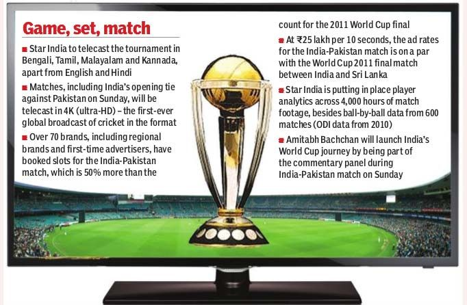 """""""#CWC15 will be the most talked about event on digital platforms"""" - Deepak Mittal, CEO,@tothenew Digital read more..http://bit.ly/1FRTh"""