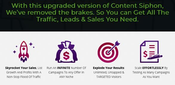 Content Siphon Pro Unlimited By Oj James - Best Upgrade OTO #1 Of Content Siphon Curation Software With Features Unlimited Domains & Advanced Features For 100% Hands Free Post Scheduling & Automation, Get More Than 70 New Sources Curation Content  #contentsiphonpro #content #contentmarketing