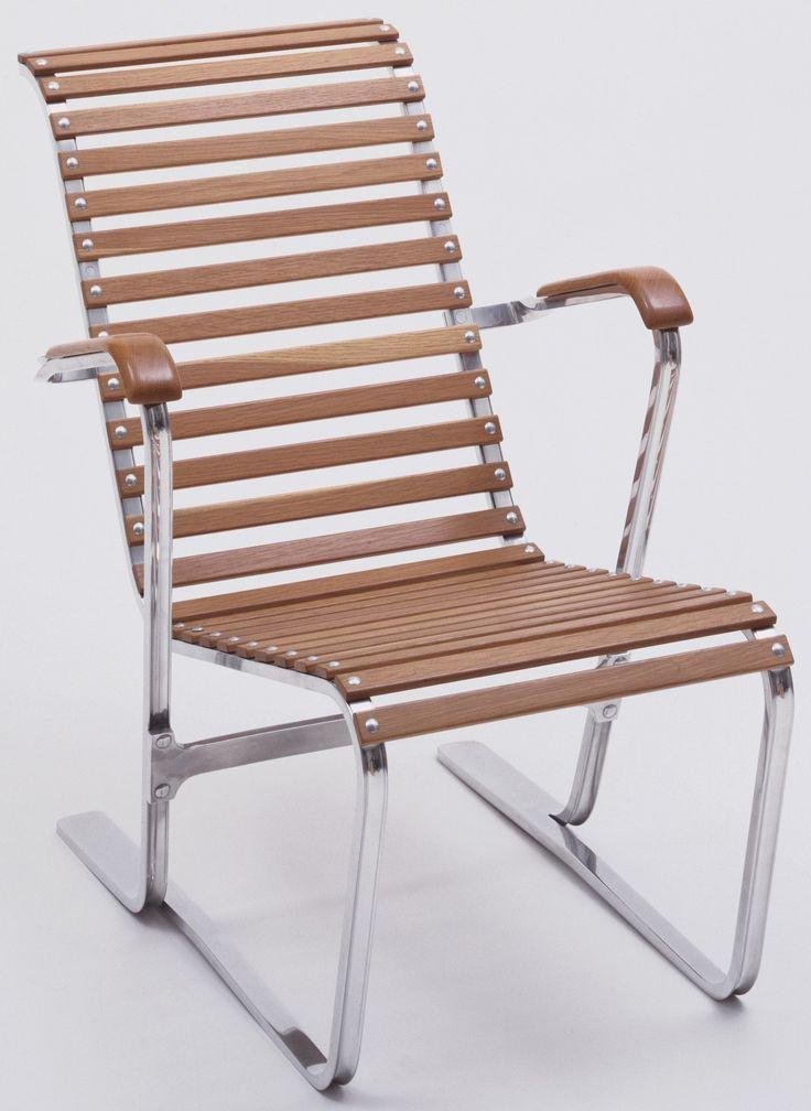 lounge chair marcel breuer 1932 33 aluminum and ash. Black Bedroom Furniture Sets. Home Design Ideas