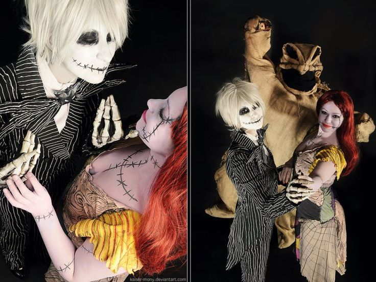 The Nightmare Before Christmas and other geek couple costume ideas