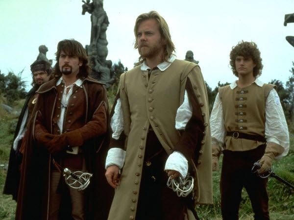 The Three Musketeers - 1993 - Kiefer Sutherland (Athos), Charlie Sheen (Aramis), Oliver Platt (Porthos), Chris O'Donnell (D'Artagnan)
