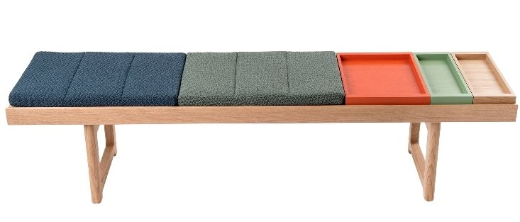 Krobo bench color accesories