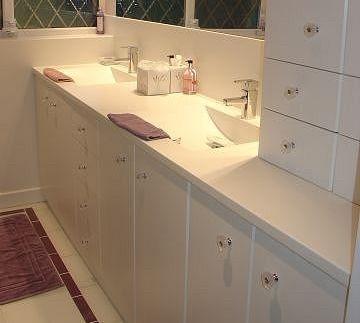 corian counter/sink