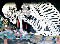 ЯПОНСКАЯ ЖИВОПИСЬ жанр муся-э. Период Эдо. Художник Утагава Куниёши  Куниёси - картины, гравюры, биография