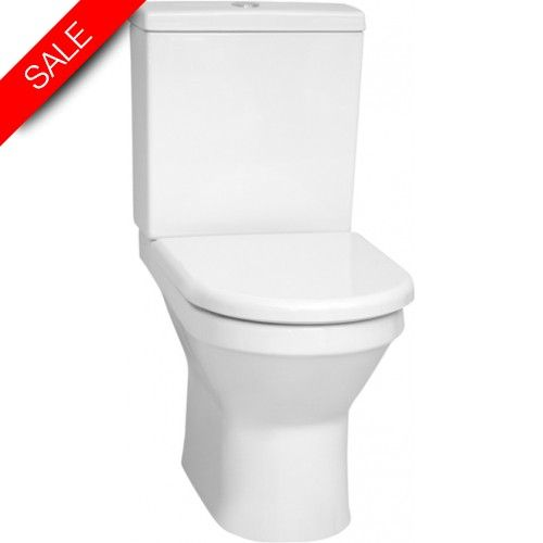 S50 Rimless Close-Coupled WC Pan