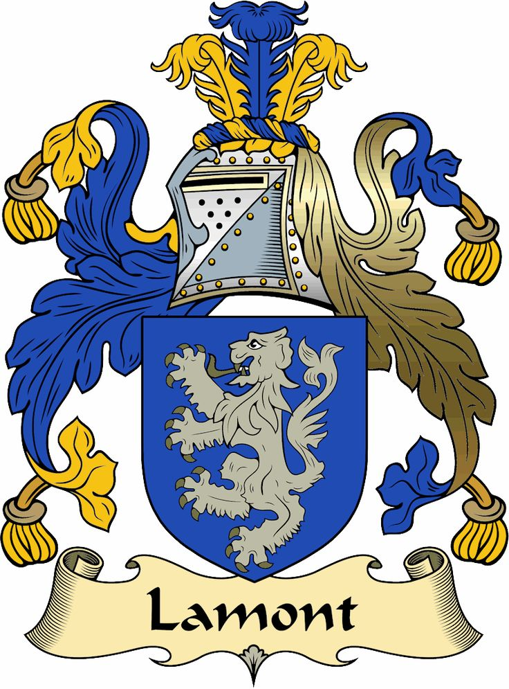 Lamont clan crest