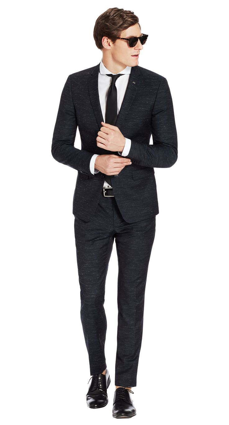 Suit Navy Plain Brolin
