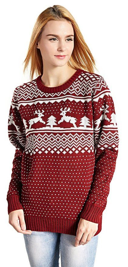 204 best Cute Christmas Sweaters for Women images on Pinterest ...