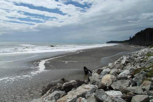 Greymouth Beach, New Zealand