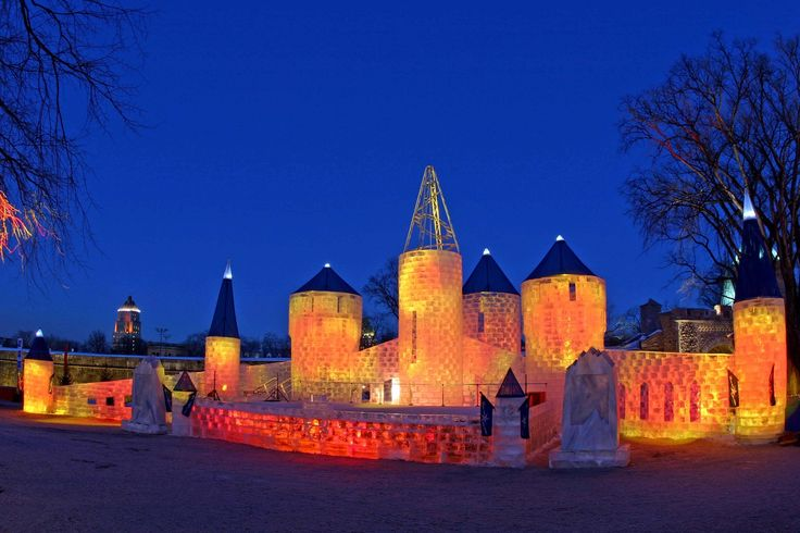 Ice Palace Quebec City, Canada Wallpaper Wide