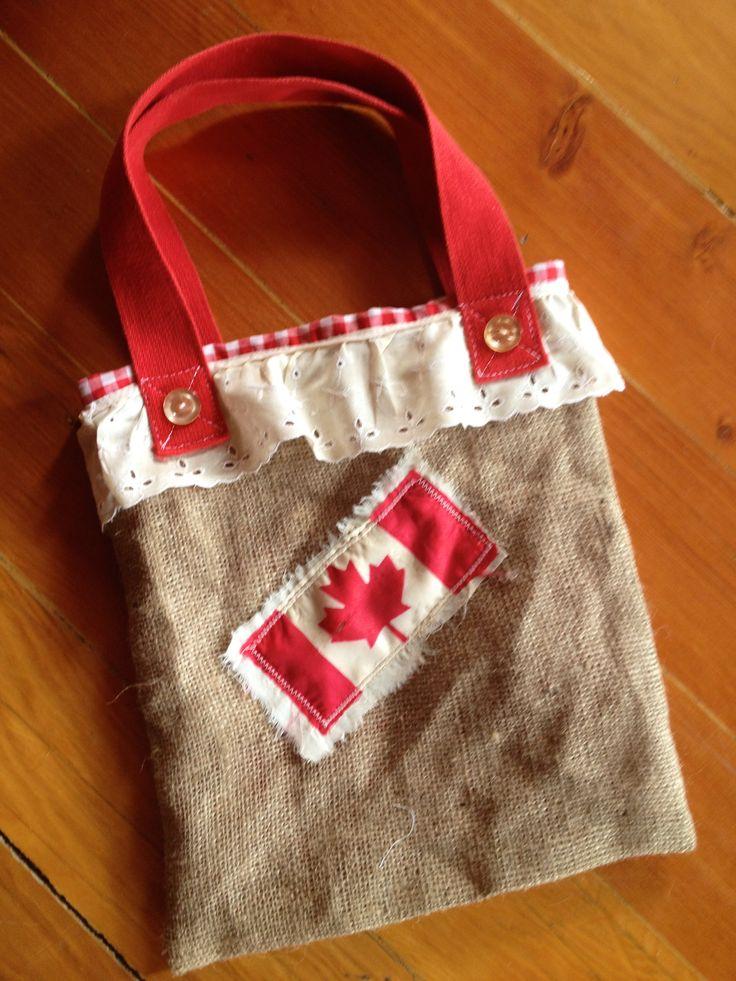 Fun Canada Day Farmers Market Tote