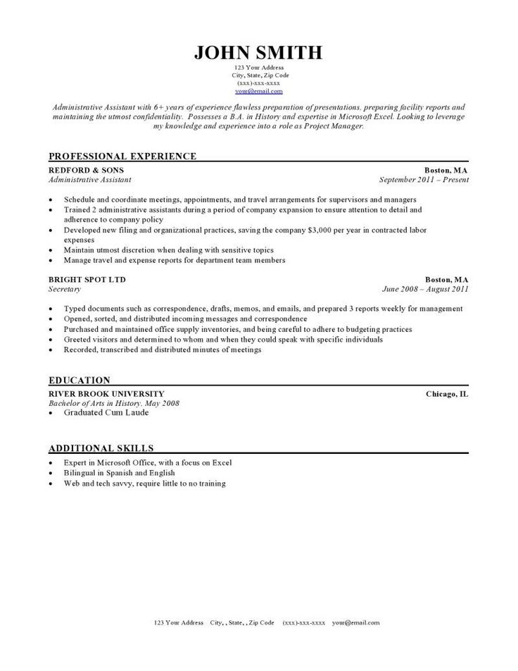 Downloadable resume template resume format examples