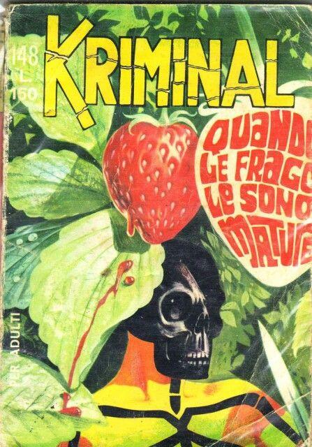 Kriminal comics.