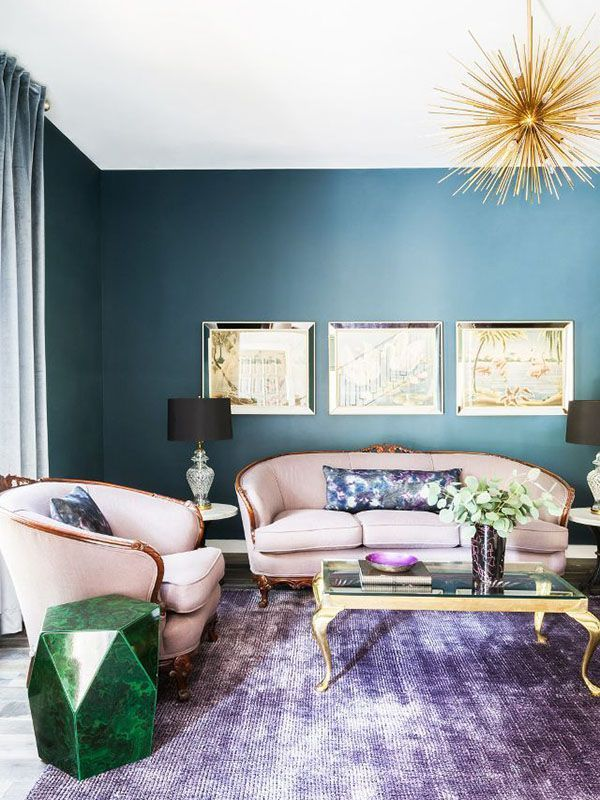A Color System Can Establish The Tone For Your Living Room Discover A Fresh Look For Your Space W Teal Walls Living Room Formal Living Rooms Living Room Decor