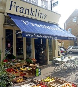 Franklins Farm Shop, East Dulwich, Homegirl London