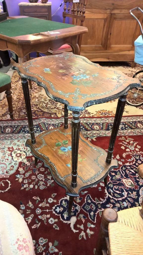 10122 1 sellette peinte ancienne a 120 occasion mobilier pinterest sellette peindre et. Black Bedroom Furniture Sets. Home Design Ideas