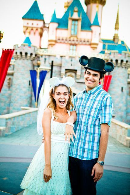 Disneyland Engagement Photo Shoot... don't know about the whole disney aspect but I like the poses. very organic.