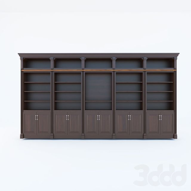 Victorian Library cabinet