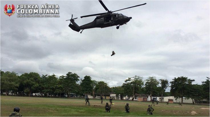 Curso de Recuperación de Personal No.9, realizado por el Comando Aéreo de Combate No.1 ubicado en Puerto Salgar, Cundinamarca.  NOTICIAS DE LA FAC - Página 87 - América Militar  Fuente: Fuerza Aérea Colombiana