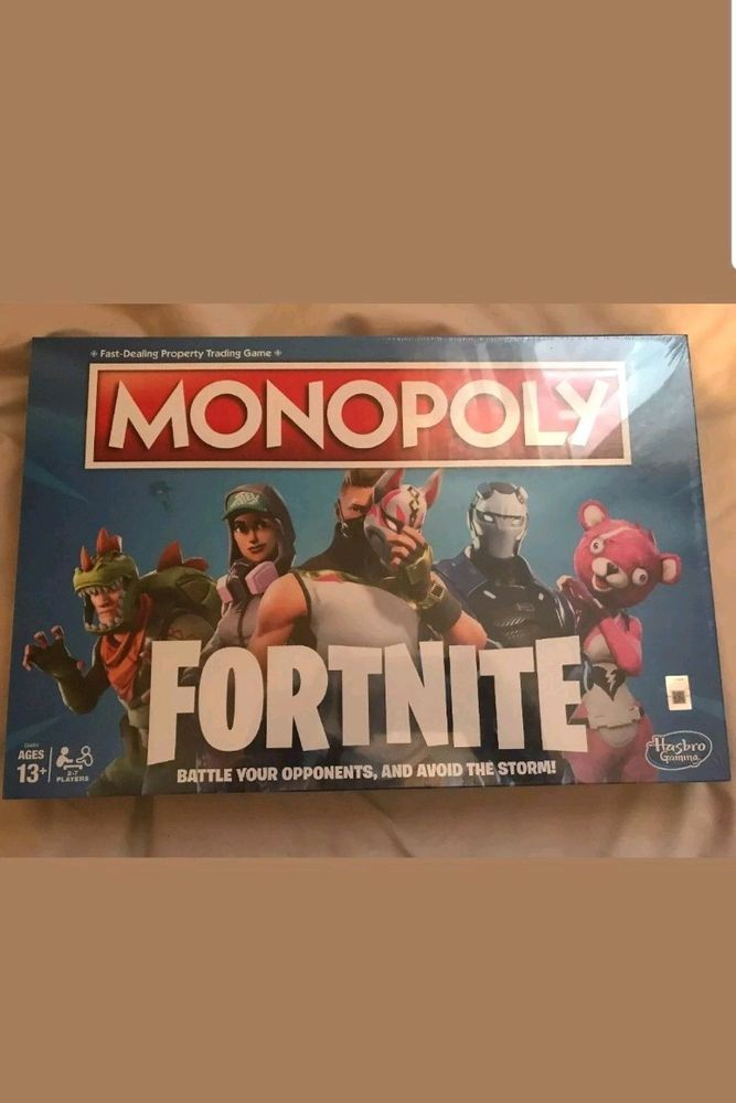 Brand New In Hand Fortnite Monopoly Board Game Fortnite Launch