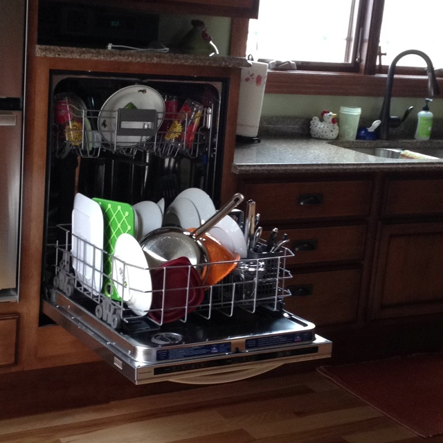 Raised dishwasher best decision ryan and i made while for Disabled friendly kitchens