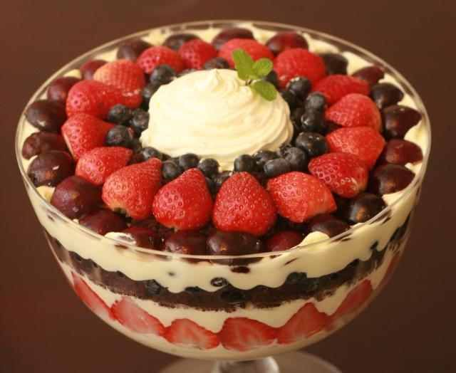 44 best images about Trifle, Pudding & Jello dishes on ...