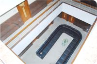 UG Regal Top View, Interior of UG Regal Budget Hotels in Bangalore near Railway Station