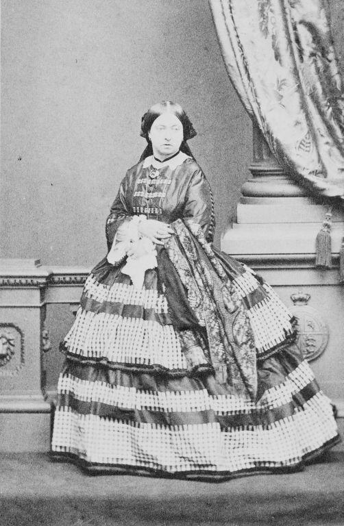 Portrait photograph of Queen Victoria (1819-1901), c. 1861 | Royal Collection Trust