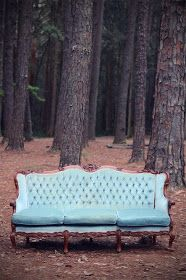 Loving this lovely lounge in powder blue.