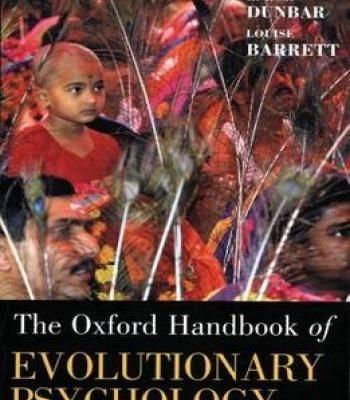 The Oxford Handbook Of Evolutionary Psychology PDF