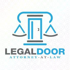 Exclusive Customizable Logo For Sale: Legal Door | StockLogos.com https://stocklogos.com/logo/legal-door