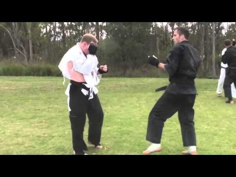 Goju Ryu Karate Kumite with knockout | Goju Ryu Karate do Seiwakai | Kumite