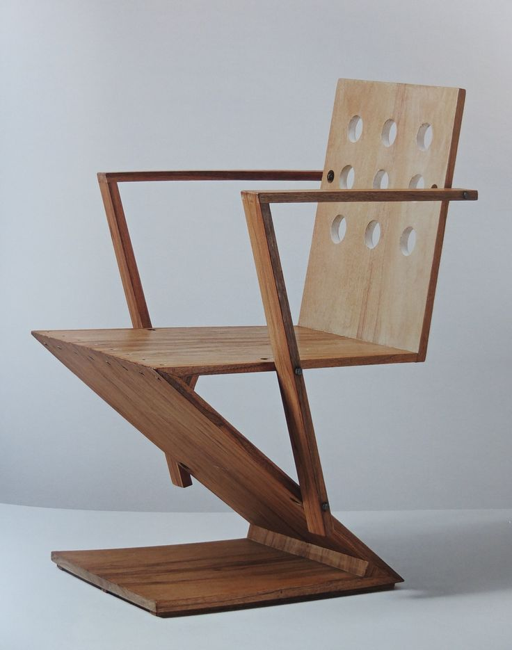 192 best gerrit thomas rietveld chaise zig zag images for Chaise zig zag