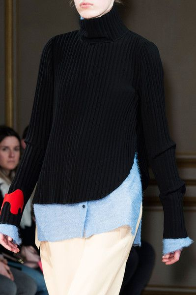 Véronique Leroy at Paris Fall 2015 (Details)