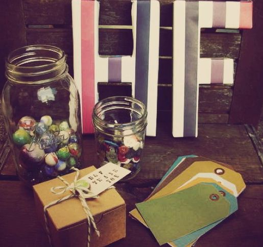Vintage Circus Wedding: DIY Favors + Guest Book Table | forget.me.knot.weddings