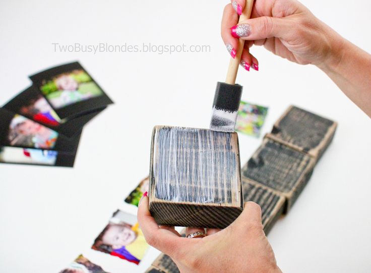 PHOTO BLOCKS!! Fun, creative way to display photosWood Block