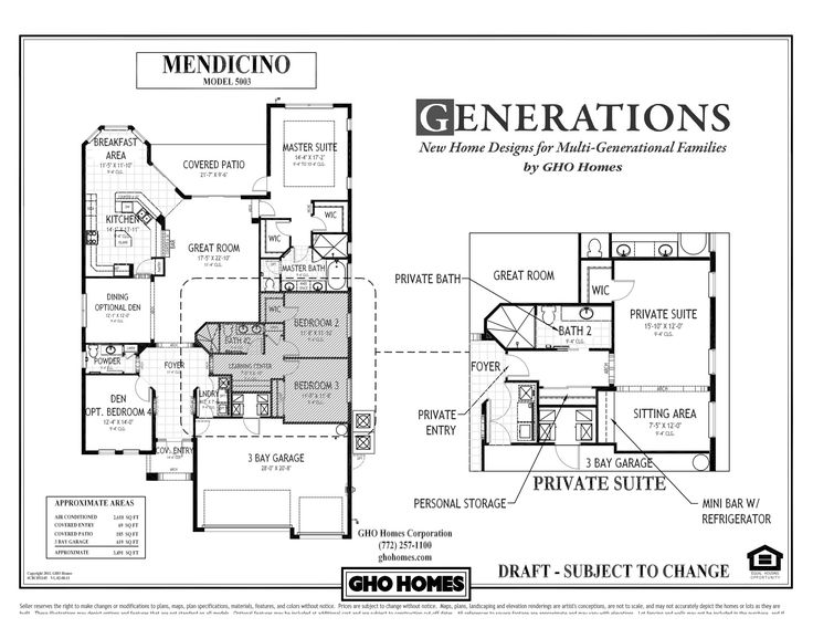 Multi Generational House Plans Single Story Of Today S