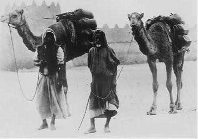 Black Arabia: Authentic Bedouin of the Arabian Peninsula.  When the Chanson de Roland which speaks of the time of the Moorish battles in Gallic France speaks of 'those hordes and hordes blacker than the blackest ink – no shred of white on them except their teeth…' it is no mere exaggeration.