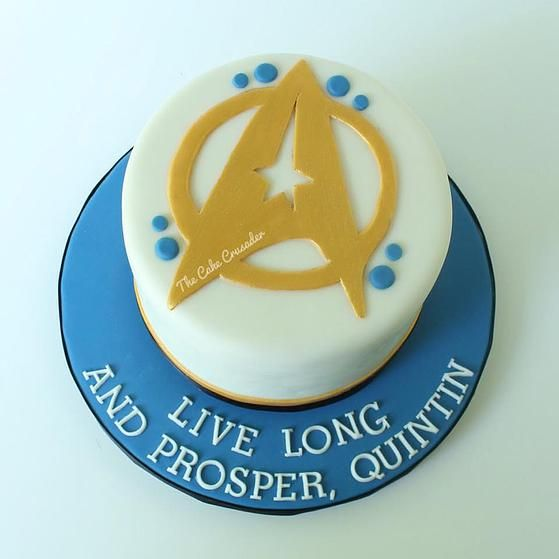Star Trek Cake - The Cake Crusader, Custom cakes in Western MA