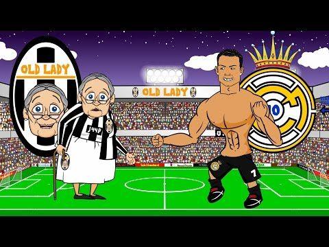 JUVENTUS vs REAL MADRID 2-1 (Parody Champions League Semi-final 2015 Goals Highlights) - YouTube