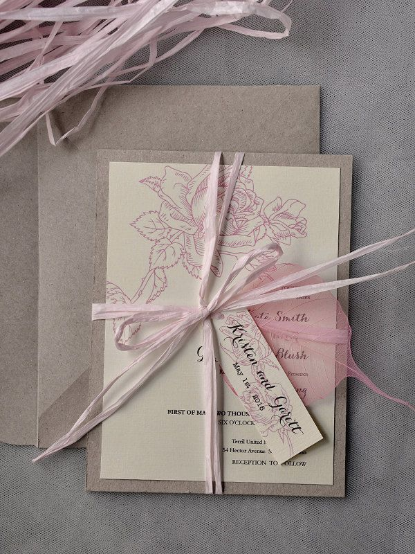 diy wedding invites rustic%0A MOD Finds  Rustic Chic Wedding Invitations