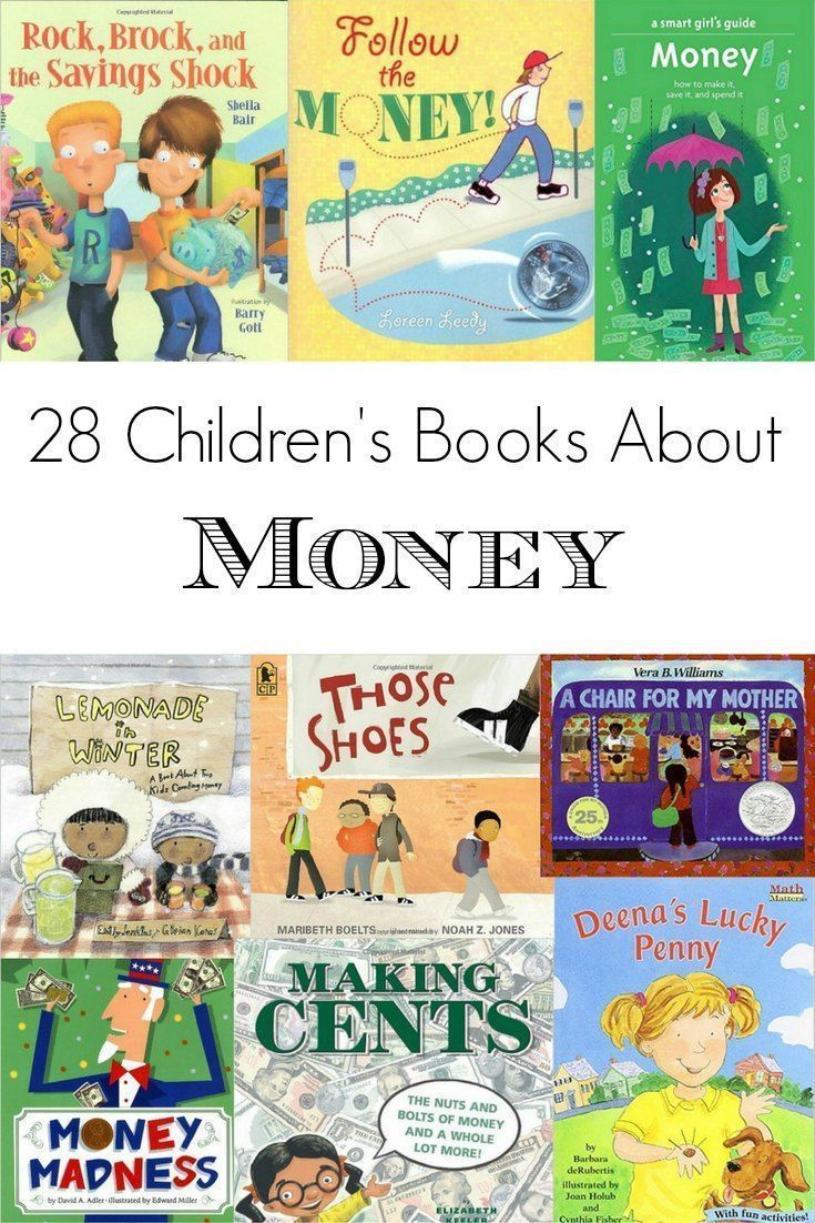 28 Children's Books About Money: A list of our family's favorite children's books about money. Includes PDFs that list the books by money topic and age appropriateness.