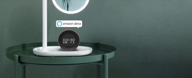 you can set 100 timers/alarms!!! Vobot alarm clock with Amazon Alexa-can show the world clock, active alarm.