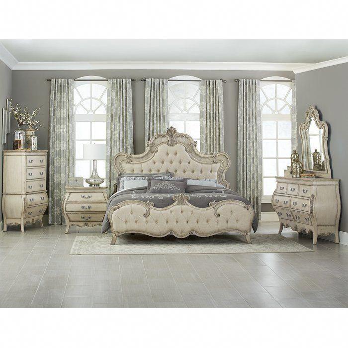 Rhinecliff Platform Configurable Bedroom Set Bedroomsets Bedroom Set Bedroom Sets Upholstered Bedroom