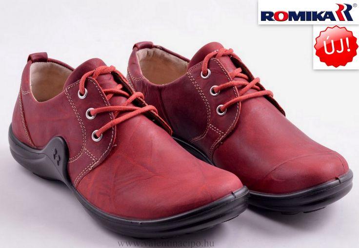 Új Romika női piros cipő a Josef Seibel Referencia Szaküzletünkben és webáruházunkban :)  http://valentinacipo.hu/romika/noi/piros/zart-felcipo/141699440  #romika #romika_cipő #romika_webshop