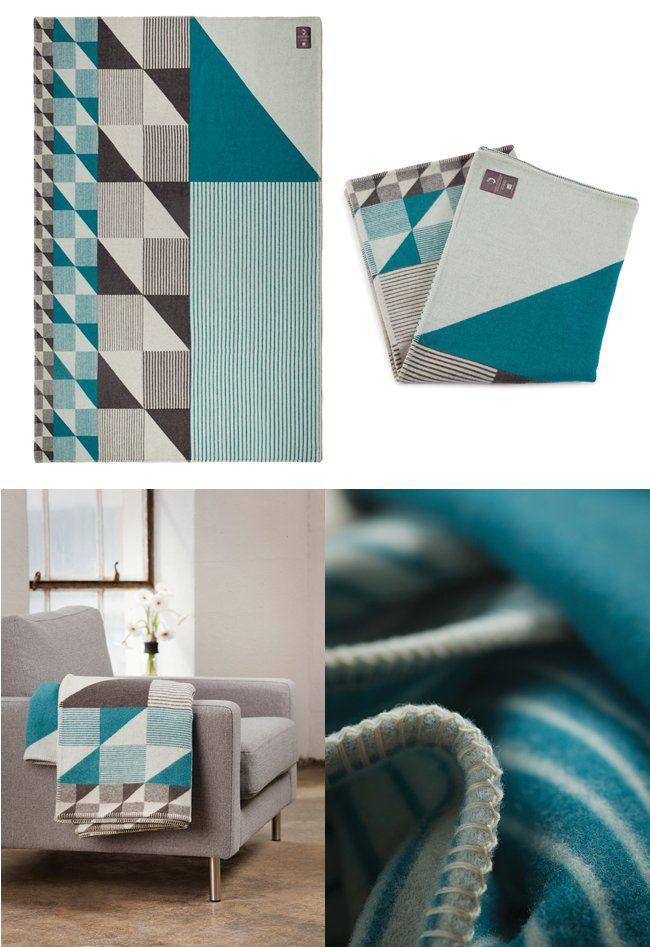 Funkle - Gullfuglen Jacquard blanket